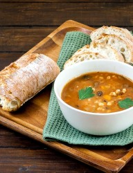 Mushrooms and Barley Soup