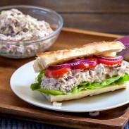 Pecans and Tuna Sandwich