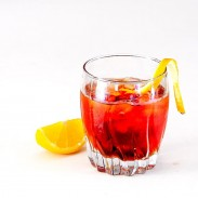 Americano, a classic mix of Cinzano and Campary | CookingGlory.com
