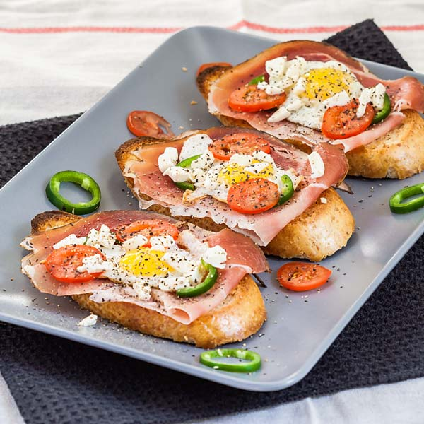 Delicious and healthy appetizer, ready in 15 minutes or less.