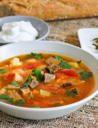 Best kept Romanian secret, the delicious beef soup