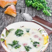 Sausage and Kale Tuscan Soup