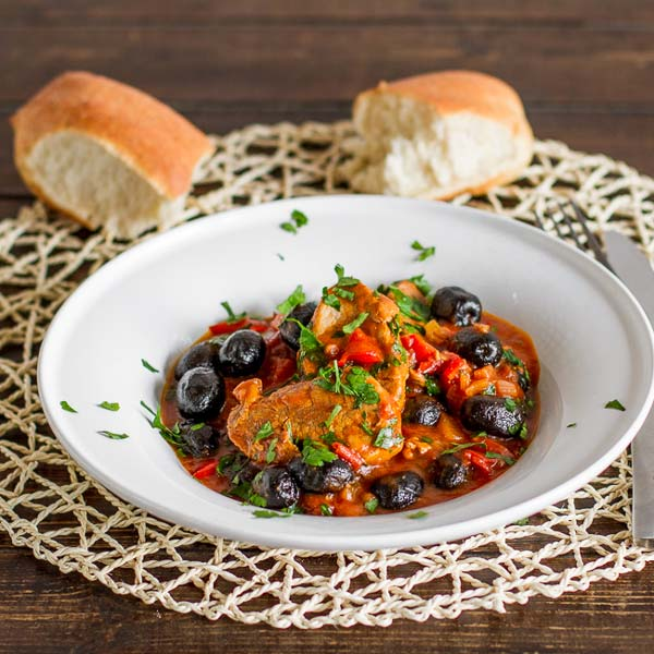 The ultimate Romanian stew recipe, olives with pork tenderloin