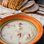 Traditional Romanian Tripe Soup
