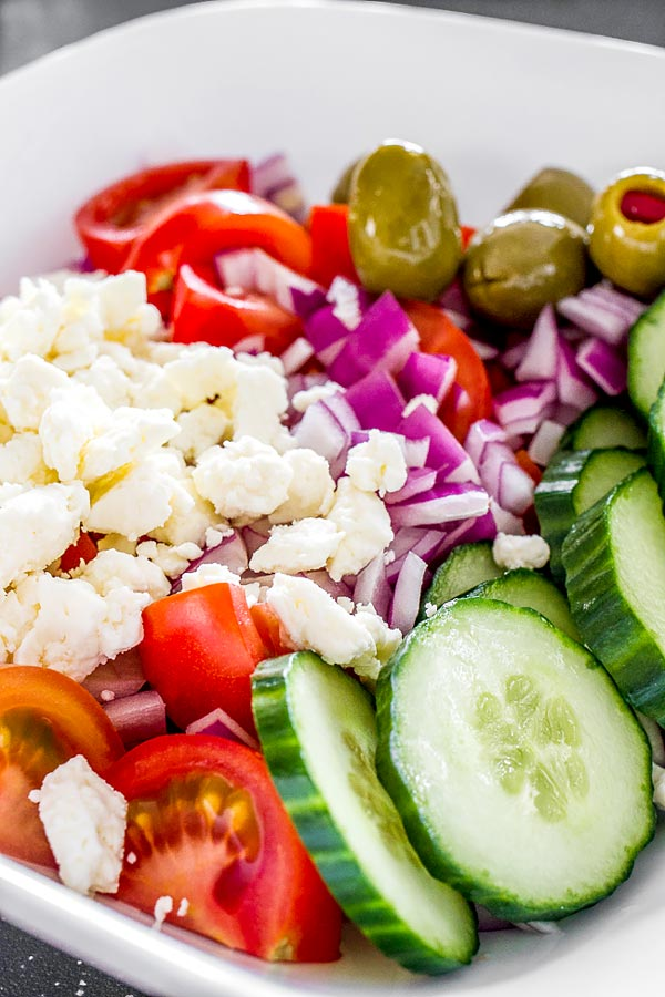 Easy, non fail salad with simple ingredients
