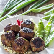 Easy to make meatballs with amazing Asian flavors,